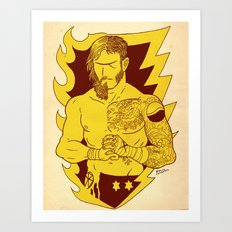 the Best and the Beard Art Print