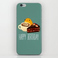 birthday iPhone & iPod Skins featuring birthday by Gracejo413