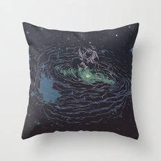 Universe of Love Throw Pillow