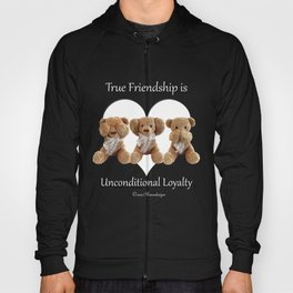 True Friendship is Unconditional Loyalty - Blue Hoody