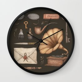 A Sophisticated Assemblage Wall Clock