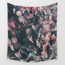 hydrangea - moody blues Wall Tapestry