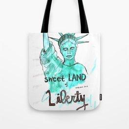 Sweet Land of Liberty Tote Bag