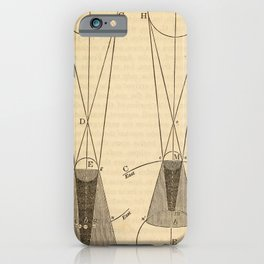Kendall - Uranography; or a Description of the Heavens (1850) - Eclipses of the Moon iPhone Case