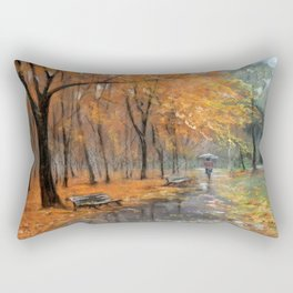 Autumn in the park # 2 Rectangular Pillow