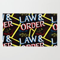 law Area & Throw Rugs featuring LAW & ORDER by Josh LaFayette