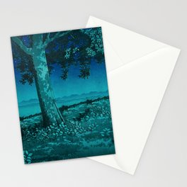 Nightime in Gissei Stationery Cards