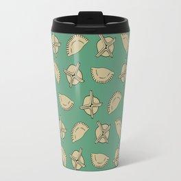 Dumpling Pattern Travel Mug