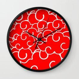 Akatsuki Clan - Clouds Wall Clock