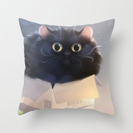 If it fits... Throw Pillow