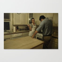 Table for 2 Canvas Print