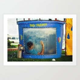 easy dunker Art Print
