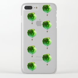 Iceberg Attack Clear iPhone Case
