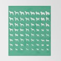 All Dogs (Mint) by erinreadesign