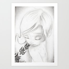 """Mortrait III"" Art Print"