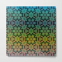 colored thread Metal Print