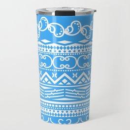 Christmas Blue Spirit Travel Mug