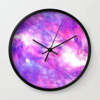 explore Wall Clocks featuring Explore by Matt Borchert