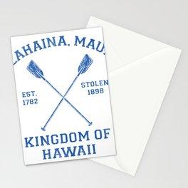 Lahaina Maui Hawaii - Kingdom of Hawaii Stationery Cards