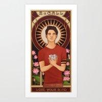 michael scott Art Prints featuring Scott by callahaa