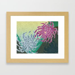 chrysanthemums  Framed Art Print