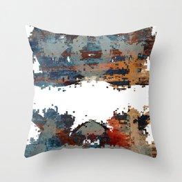 disquiet six (desintegração) Throw Pillow