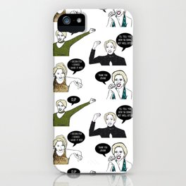 A Medley Print iPhone Case