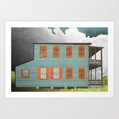 West Indies House Art Print