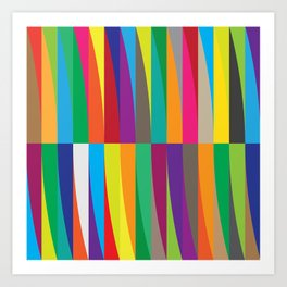 Geometric No. 1 Art Print