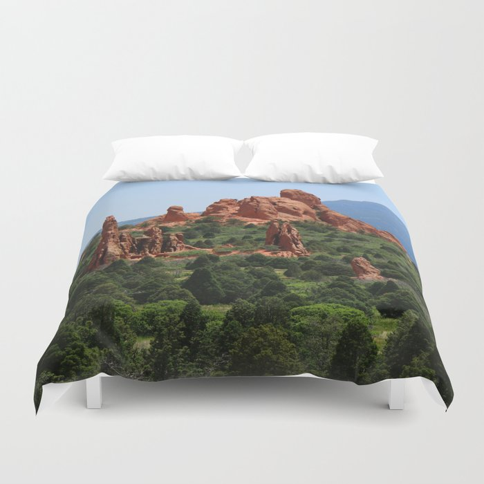 Cathedral Valley Duvet Cover