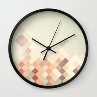 marc johns Wall Clocks featuring Saint Marc bay 2 by 16floor