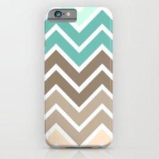 BEACHY CHEVRON iPhone 6s Slim Case