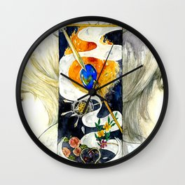 Brothers of the Magical Sapphire Wall Clock