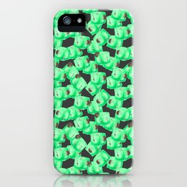 Gelatinous Cube Craze iPhone Case