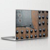 door Laptop & iPad Skins featuring Door by constarlation