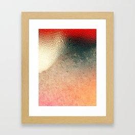Ice Shield Framed Art Print