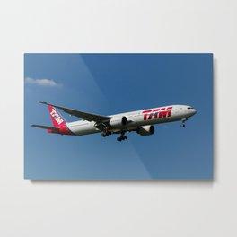 Tam Boeing 777 Metal Print