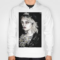 sky ferreira Hoodies featuring Sky ferreira no………………………..11 by Lucas David