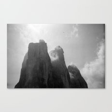 Three Peaks Canvas Print