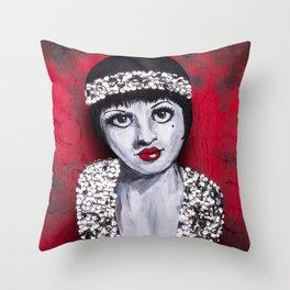 Flapper Throw Pillow