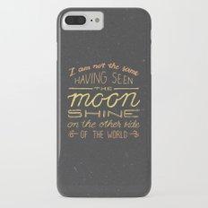 moon quote iPhone 7 Plus Slim Case