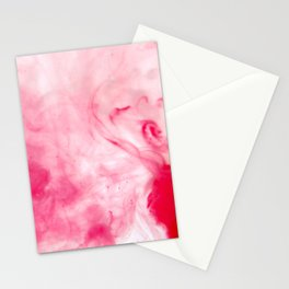 Abstract Blood Stationery Cards