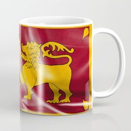 Sri Lanka Flag Coffee Mug