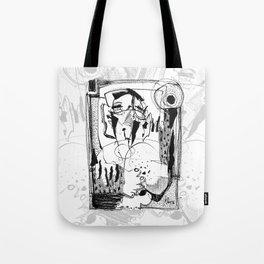 Sunbath - b&w Tote Bag