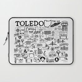 Toledo Ohio Laptop Sleeve