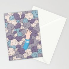 Spock's Trouble With Tribbles (Star Trek) Stationery Cards
