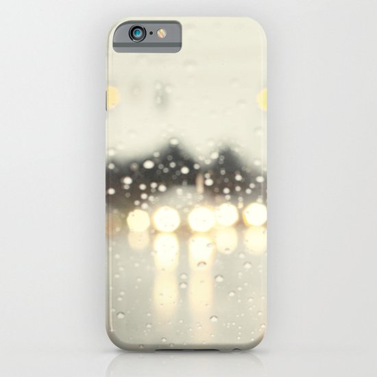 driving in the rain iPhone & iPod Case