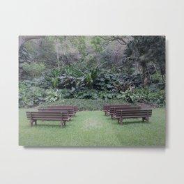 garden pause Metal Print