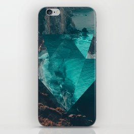 The Sea's Diamond iPhone Skin