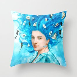 Whispering Songs Throw Pillow